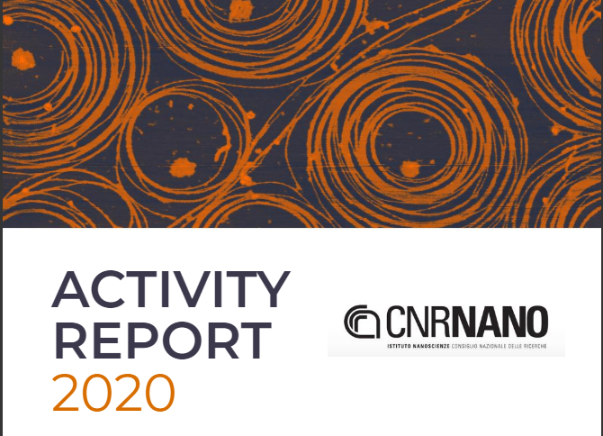 Cnr-nano 2020 activity report