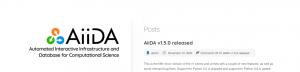 AiiDA release