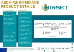 AiiDA - QE product details INTERSECT